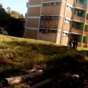 Deteriorating student accommodation at Hawassa University