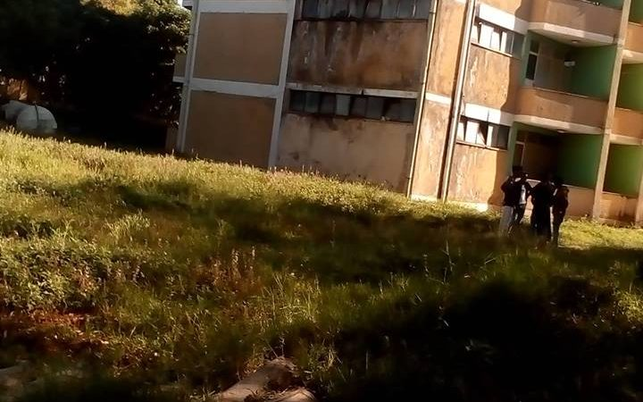 Deteriorating student accommodation at Hawassa University - Ethiopia