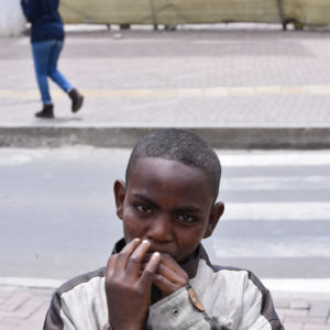 Glue sniffing street children of Ethiopia