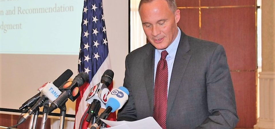 Embassy slams 'baseless' claims of US role in Prime Minister Abiy's selection processes