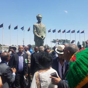 Emperor Haile Selassie statue unveiled
