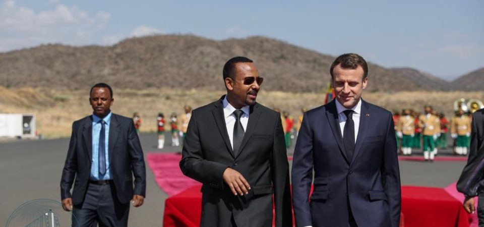 French press focuses on Ethiopia in connection with Macron's visit to country